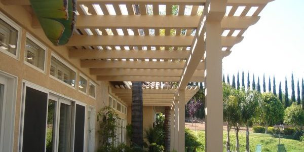Beau Wood Patio Cover