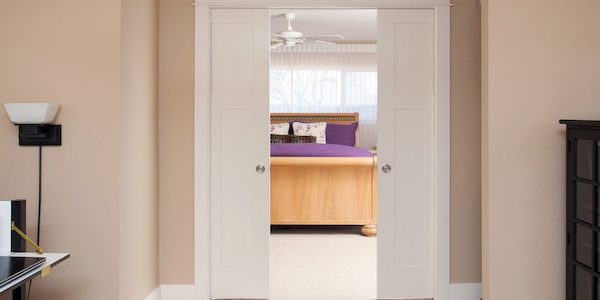 Pocket Bedroom Doors