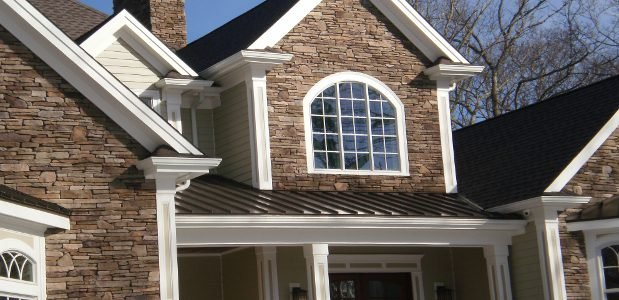 Stone veneer cultured stone veneer better than the for Wood siding vs hardiplank