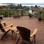 Teak wood deck