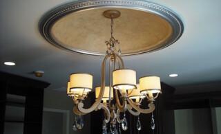 Overhanging light