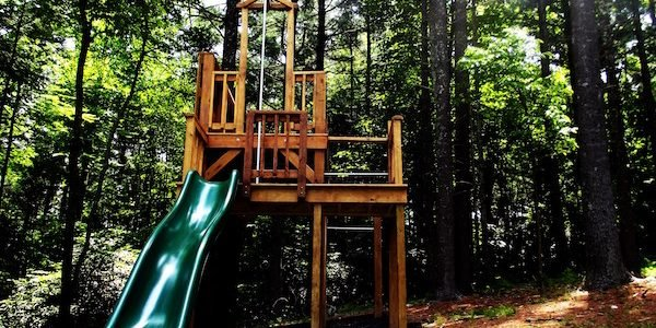 Kid Activity Backyard Playscape Benefits Types Amp Tree