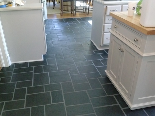 leaf%20ceramic%20tile%20mosaic%20shower%20floor%20with%20tile%20leaves Slate Tiles For Kitchen