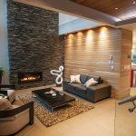 Recessed wall space
