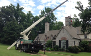 Repairing a chimney