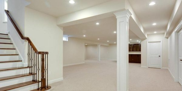 White basement
