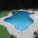 Outdoor inground pool