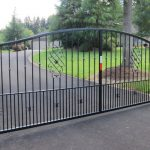 Driveway Gates Add Grace, Security and Space