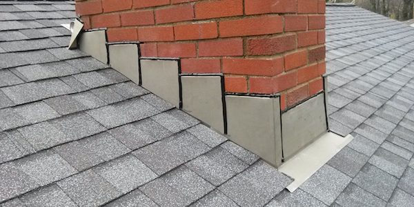 roof flashing around chimney - How To Install Roof Flashing