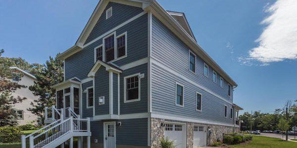 Three-story home