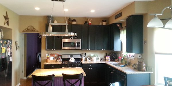 Gentil The Toughest Part Of Painting Wood Kitchen Cabinets: Choosing The Color