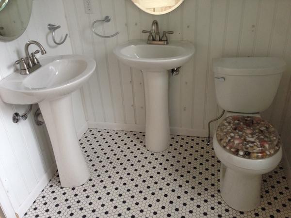 Custom toilet seat