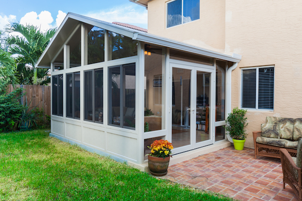Sunroom with gable roof : gabel roof - memphite.com