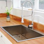 Drop in steel sink