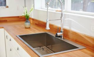 Drop in steel sink