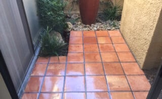 Mexican pavers