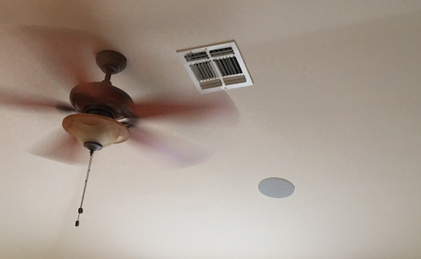 Going green with fans and ventilation ceiling fan with air vent mozeypictures Gallery
