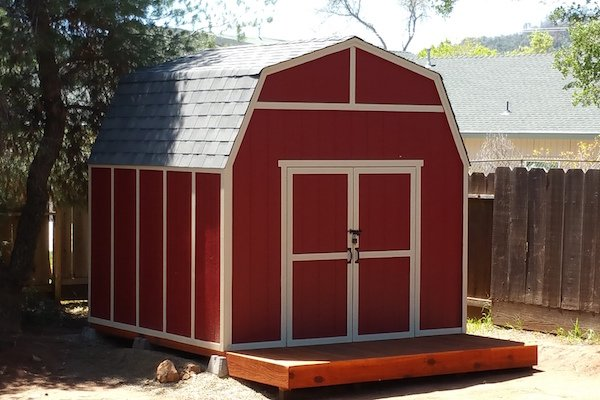 Outdoor storage sheds sizes design options local for Garden shed sizes
