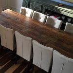 Quarter sawn wood table
