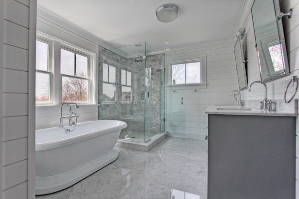 Ambient shower room