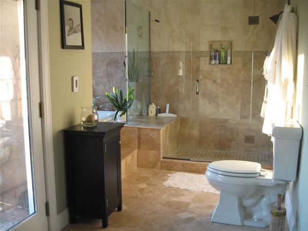 install bathroom. Tiled Bathroom Install R