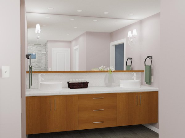 How To Install A Bathroom Vanity - Replacing bathroom vanity