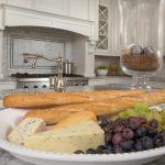 Food platter on kitchen counter