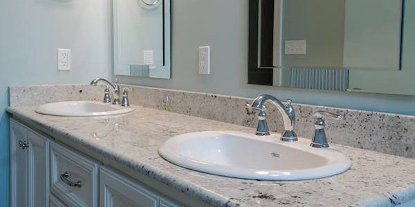 How to replace a bathroom countertop homeadvisor - How to decorate a bathroom counter ...
