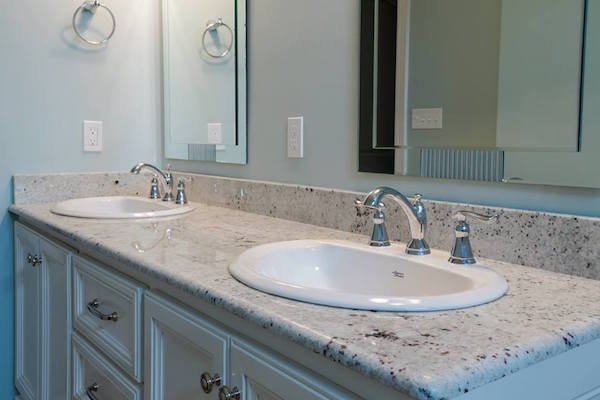 How to replace a bathroom countertop homeadvisor for Can you replace kitchen cabinets without replacing countertop