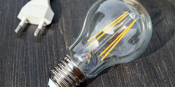 Light bulb with plug