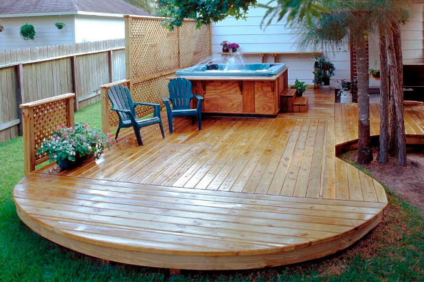 Finding the right deck builder deck construction pros for Spa builders