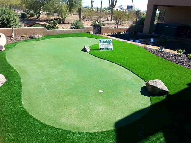 Natural Grass Putting Greens Greenskeeping