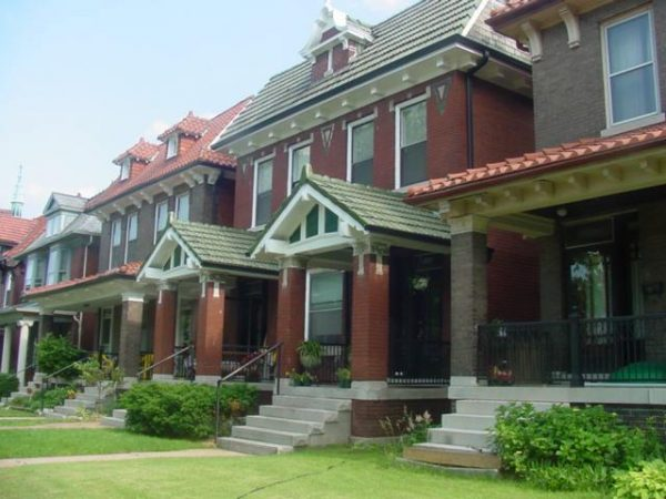 Saint Louis suburbs