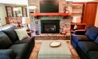 living room for walkthroughs