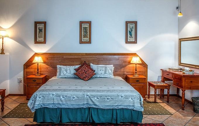 blue bedroom remodeled