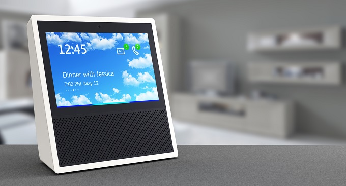 smart home hub with speaker