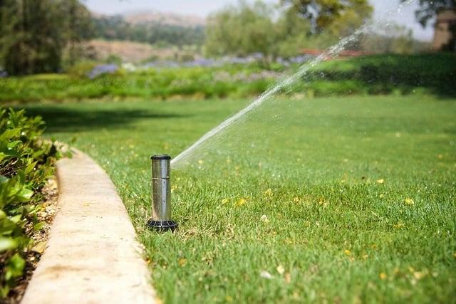 Water saving irrigation system.
