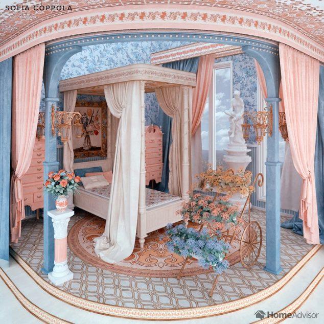 sofia coppola bedroom
