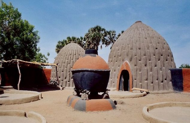 cameroon mud hut