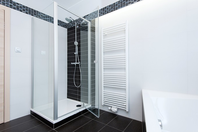 Frameless Glass Shower Door Installation How To Install On Tile Homeadvisor
