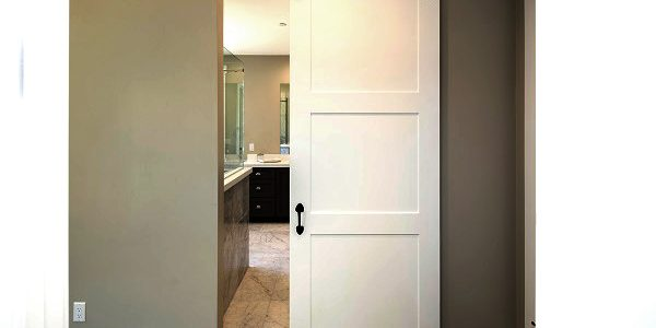 The cost and value of interior barn doors homeadvisor - Installing a lock on a bedroom door ...