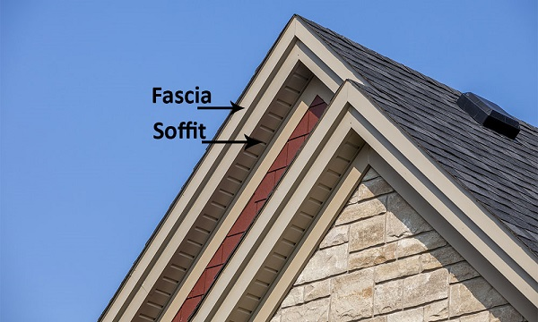 Fascia And Soffit On House