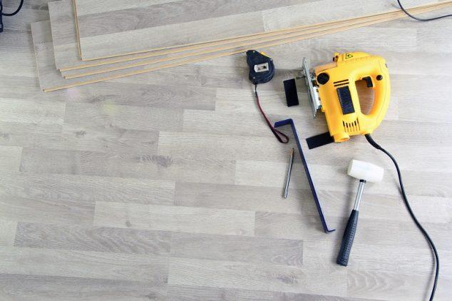 Tools to Laying Laminate. Working time