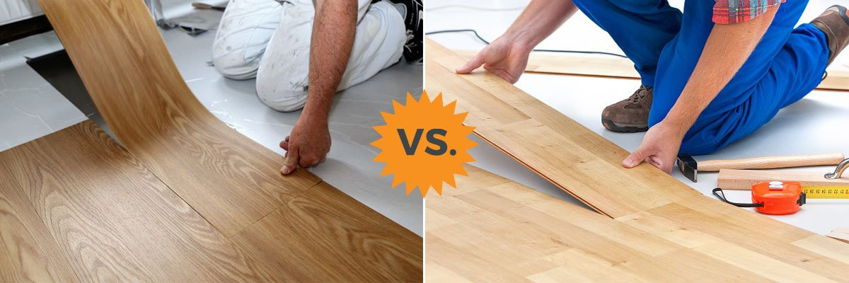 Complete Guide To Laminate Vs Vinyl Flooring Plank Luxury Etc Homeadvisor