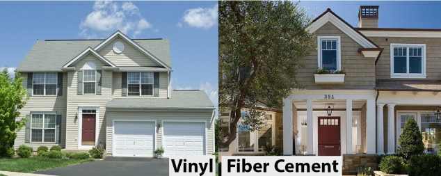 2018 comparison vinyl siding vs fiber cement hardie board homeadvisor