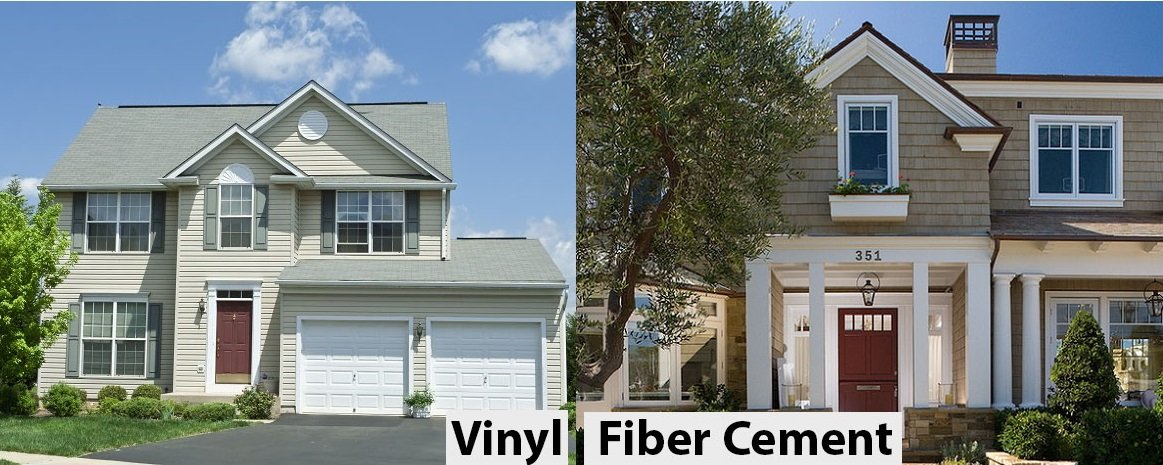2018 Comparison Vinyl Siding Vs Fiber Cement Hardie Board