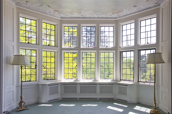 french bay windows from inside