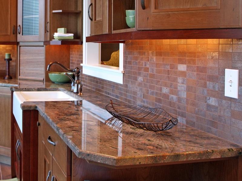 brown fantasy granite counters
