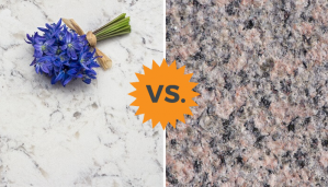 quartz vs marble counters