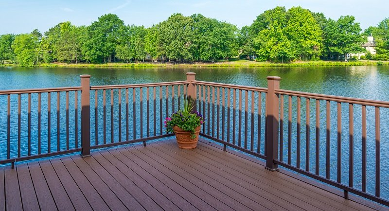 2018 Deck Railings Posts Amp Wood Board Installation Guide